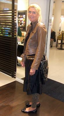 Jenny med en Kaos Classic väska 032bc120c00aa