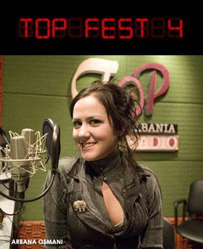 Arbana Osmani - Top Fest Presenter