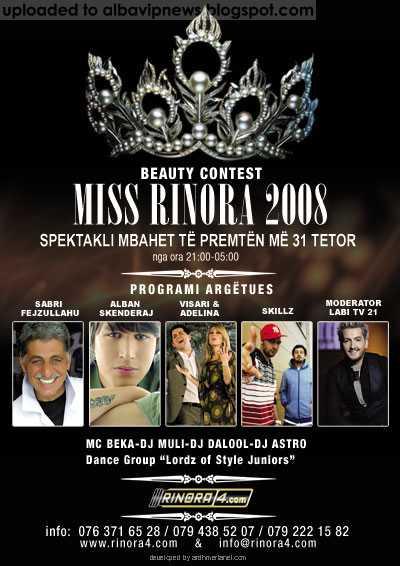 Miss Rinora 2008
