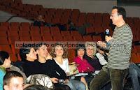 Ardit Gjebrea Kenga Magjike 2008 ne prova
