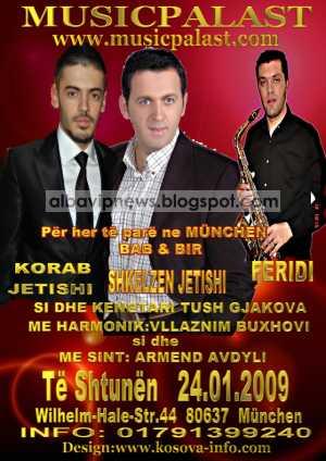 Music Palast 24 Janar 2009