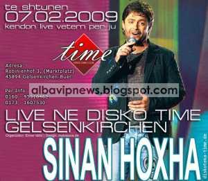Diskoteka Time 7 Shkurt 2009