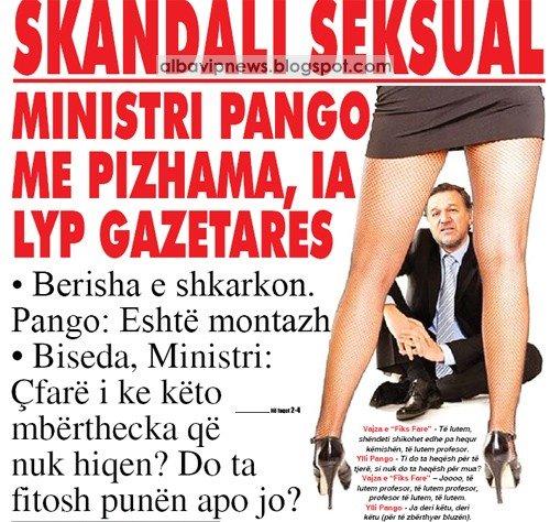 Ylli Pango Skandal Seksual