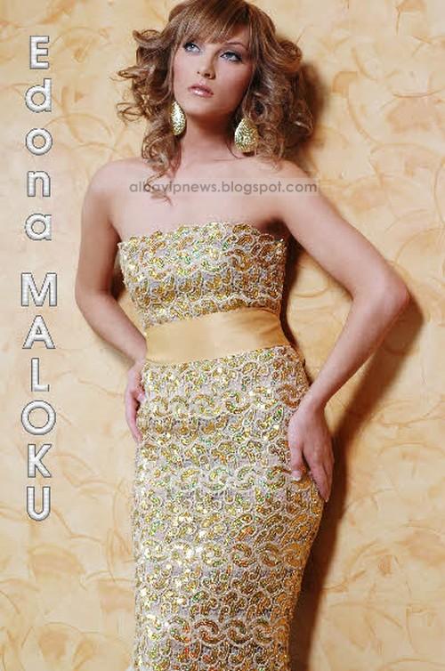 Edona Maloku Miss Universe Kosova 2009