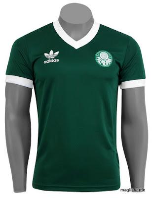 5035de27e5 Maglia Verde  Camiseta Adidas Palmeiras Vintage