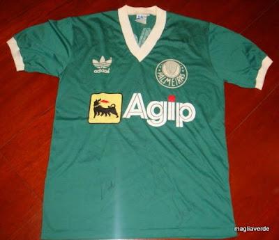 Maglia Verde  Sensacional - Camisa do Gaúcho - Brasileirão 1988 fff377b9960ca
