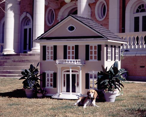 all graphical: the most luxurious dog houses