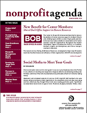 Download the latest Nonprofit Agenda