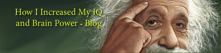 How I Increased My IQ and Brain Power - Blog