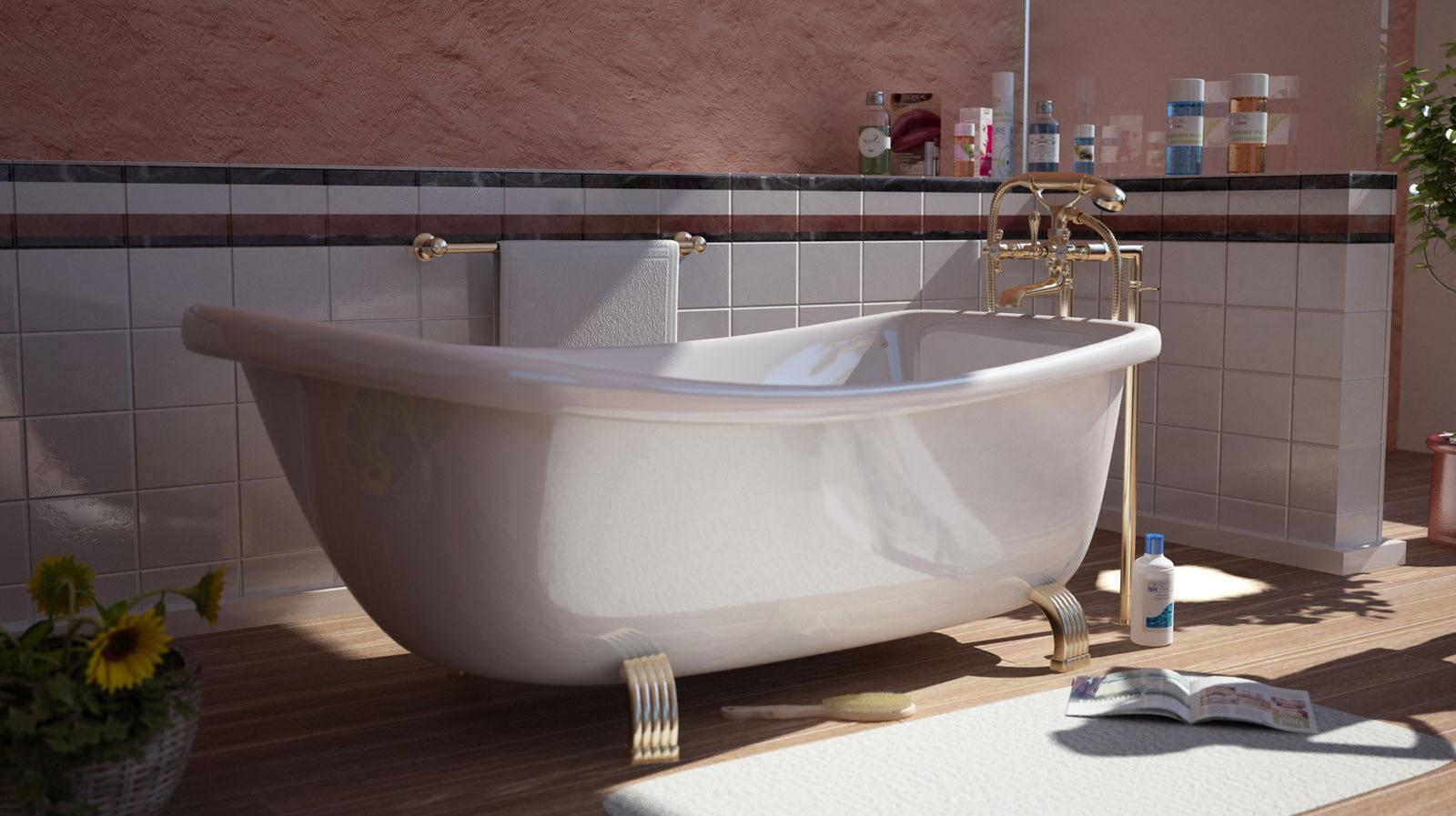 Vray Bathtub
