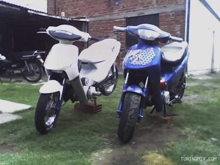 Motomel tuning y Gilera smash