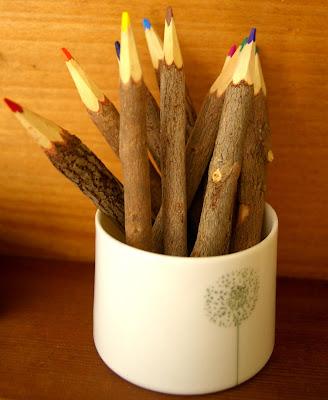 Cute Wooden Pencils From Fii In A Little Tea Cup From Finland