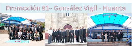 Gonzalez Vigil  Huanta - Promocion 81