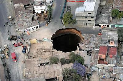 Sinkhole Sink Hole