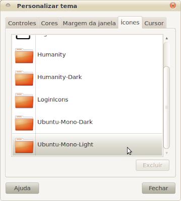 Configurando o Clearlooks com a aparência do tema Radiance