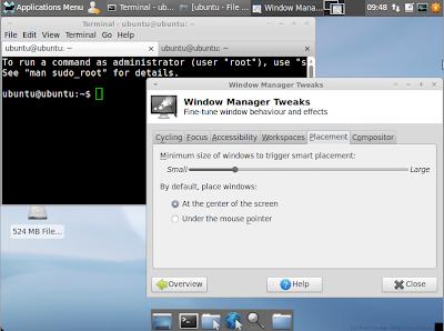 Look do Xubuntu 11,04 - em desenvolvimento [2]