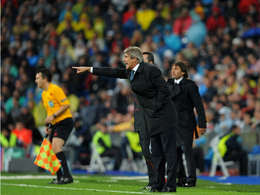 Real Madrid coach Manuel Pellegrini