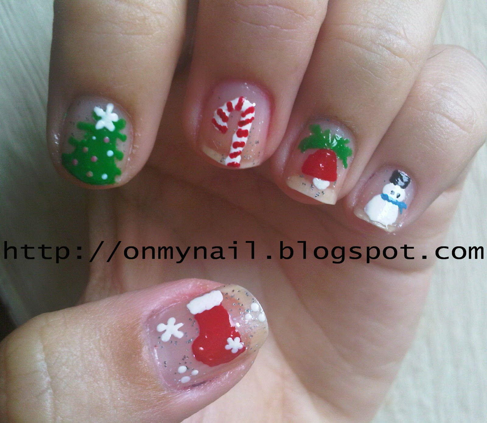 Christmas Nail Art Pictures - 22