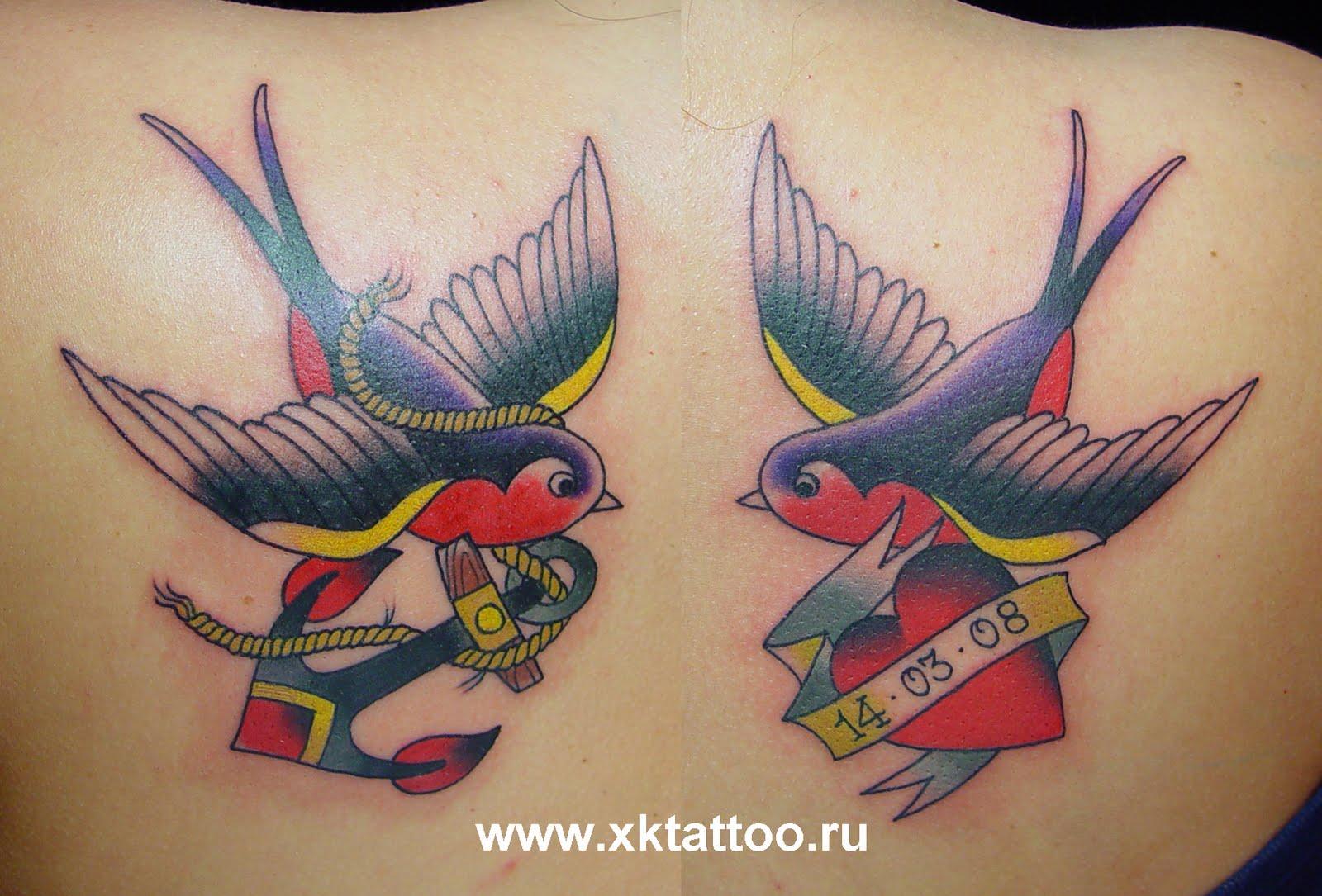 X Traditional Tattoo