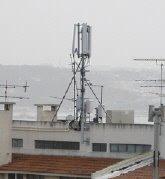 Antena instalada na Av. Brasília Nº 32