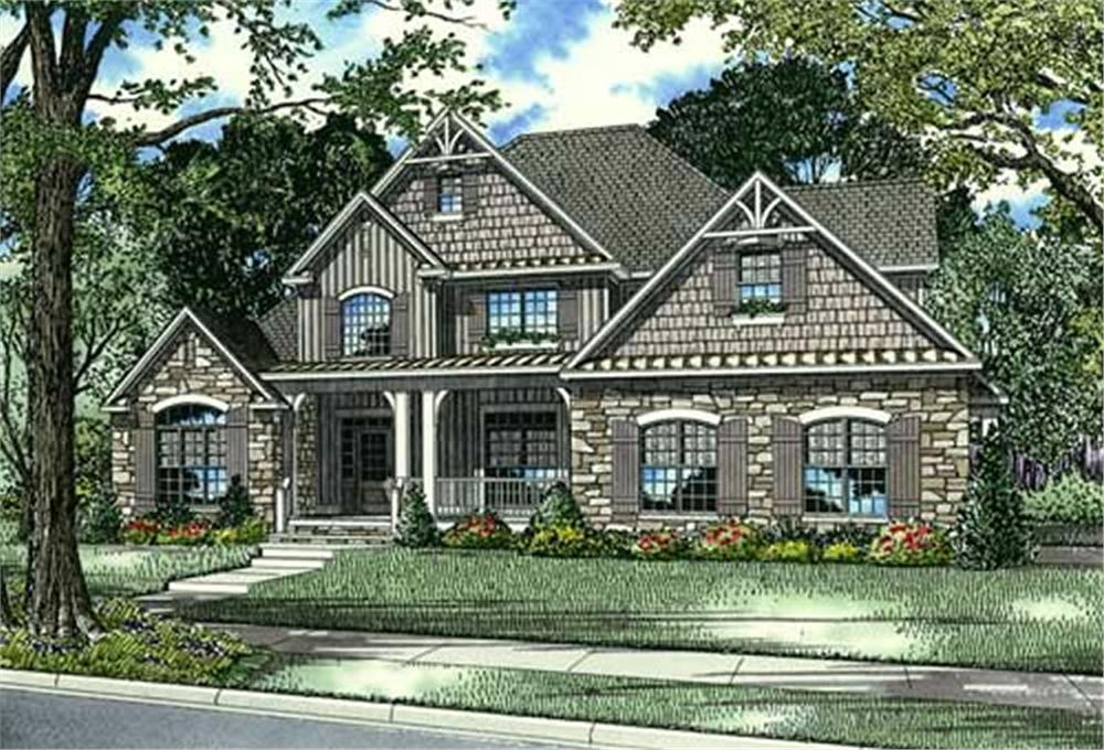 House plans global house plans residential plans bungalow for Cottage style floor plans