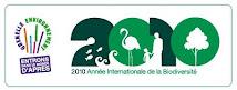 Notre projet a été labellisé « Année internationale de la biodiversité 2010 »