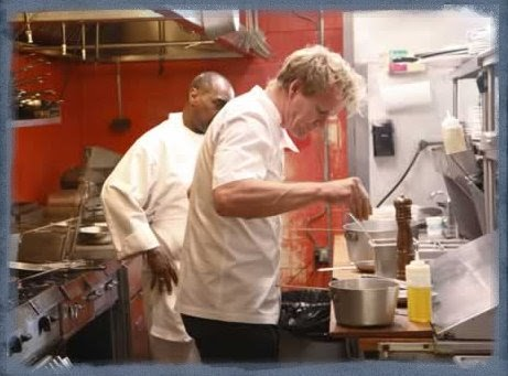 Dishin Dat Kitchen Nightmares Seascape