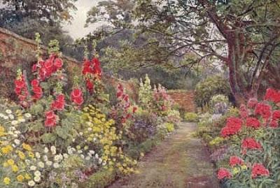 Jane austen today jane austen and the english country garden for Gertrude jekyll garden designs