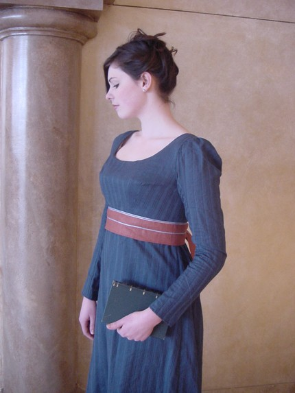 Jane Austen Today: Jane Austen Style Gown Reminiscent of Becoming Jane