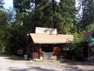 Old Blewett Pass Highway Brenders Service Station And Brender Park