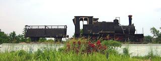 Monumen Lokomotif Pekanbaru
