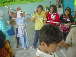 "OSIS SMP Negeri 1Tualang Taja ""Training of Leadership"""