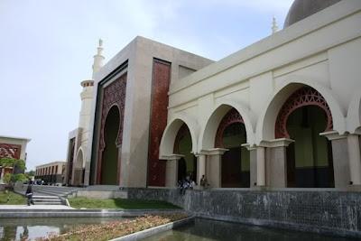 Foto Bagian Depan ICB Islamic Center Bangkinang, Kampar - Riau