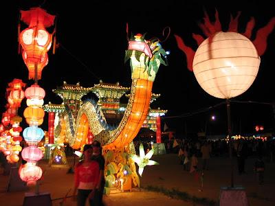 Festival Lampion 2010 di Pekanbaru