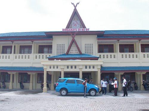 Kantor Bupati Kabupaten Kepulauan Meranti di Dorak Selat Panjang