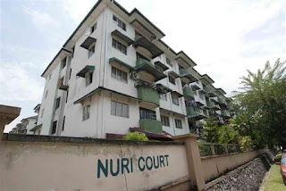 nuri court, rumah sewa