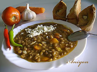 gourmet recipes - Lentils