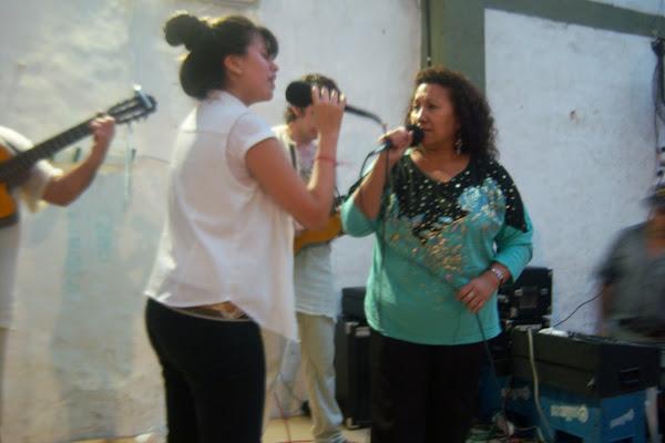 DE PEÑA EN PEÑA - Antonella e Irma Morena en la peña organizada x Pajarito Luretani  y Betty Tapia