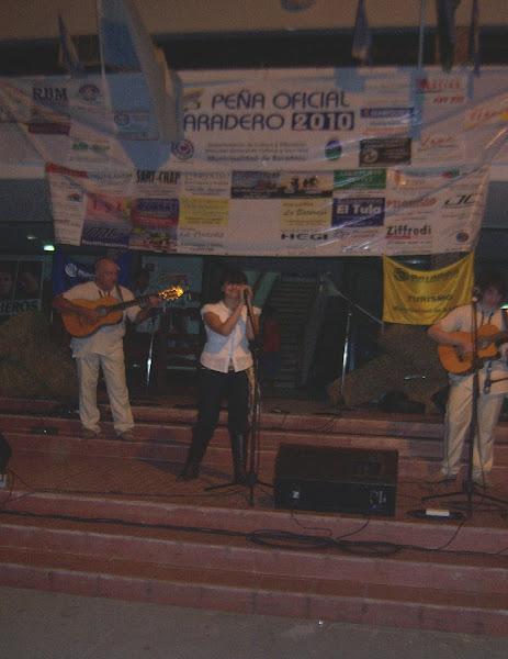 PEÑA OFICIAL - BARADERO 2010