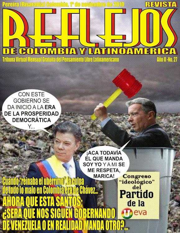 """SALIO REVISTA """"REFLEJOS"""" N° 27"""
