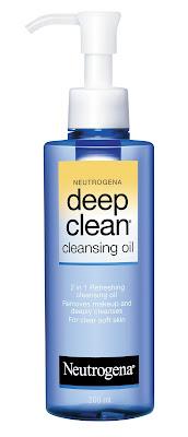 neutrogena deep clean oil