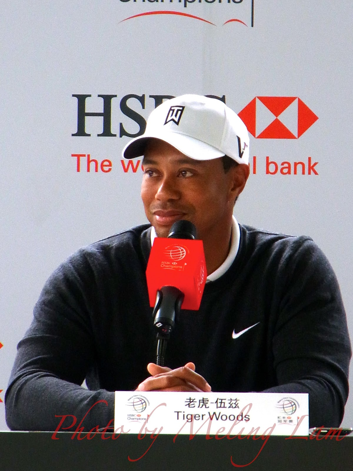 tiger woods wgc-hsbc golf champions pro-am Competition shanghai sheshan