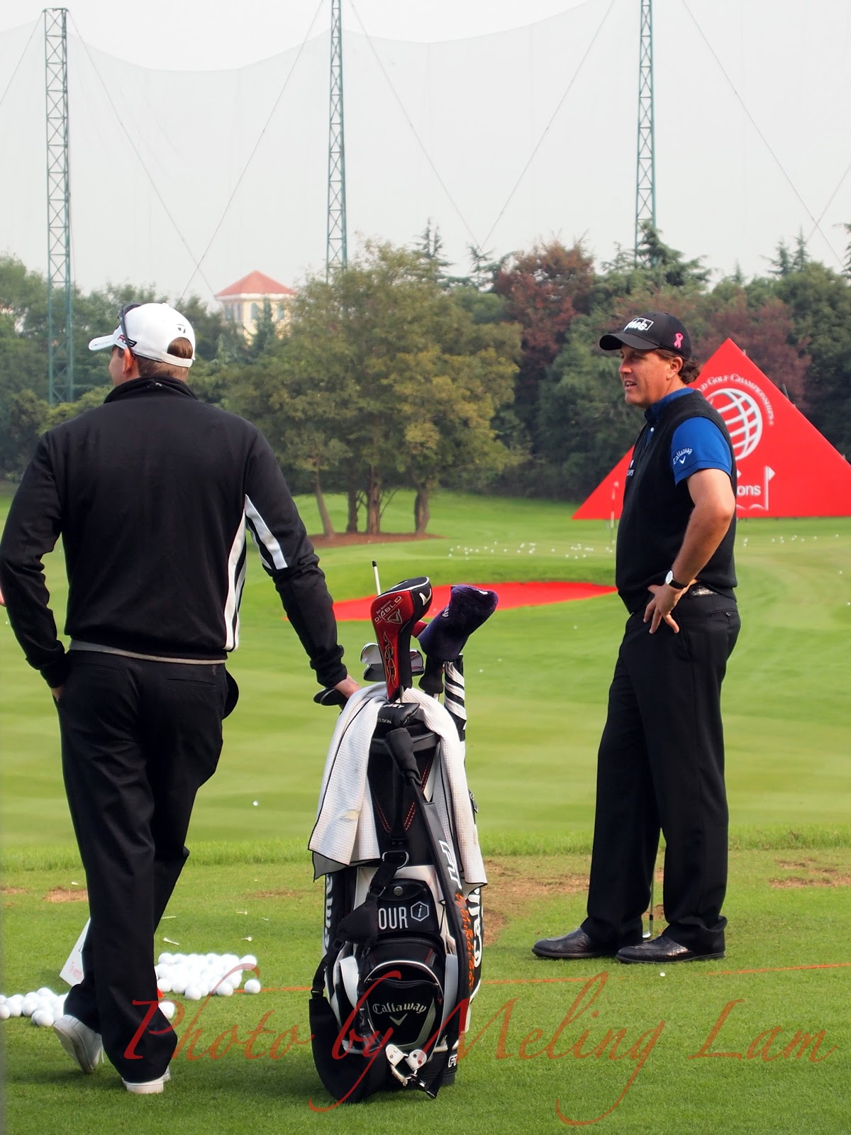 phil mickelson wgc-hsbc golf champions pro-am Competition shanghai sheshan