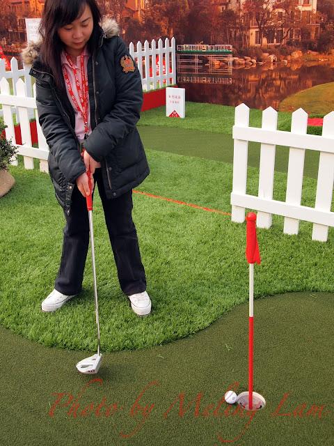 WGC-HSBC Golf Champions sheshan shanghai HSBC Interactive Village