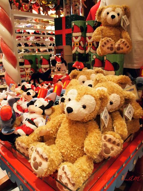 disneyland hong kong 迪士尼雪亮聖誕 duffy bear 聖誕小鎮