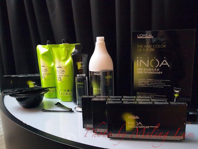 inoa hair color loreal paris professional