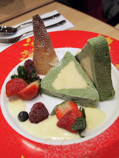haagen dazs fondue christmas dessert 雪糕火窩
