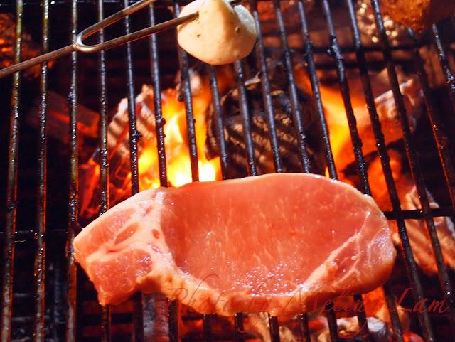 bbq 燒烤 安格斯牛 醉蝦 芒果大蜆 新西蘭羊架 京蔥 大眼雞 日本黑豚 朱古力蛋糕
