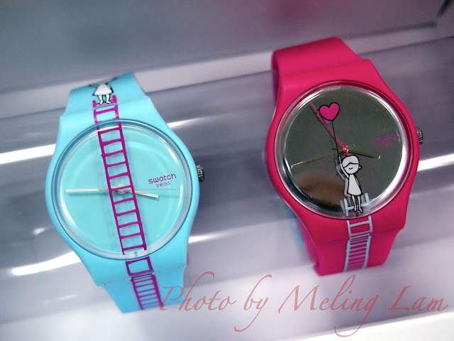 Swatch Love Collection believe of love blessing of love 情人節特別版