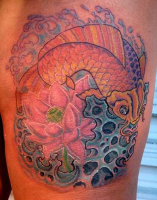 koi tattoo design. Koi Fish Tattoo Designs